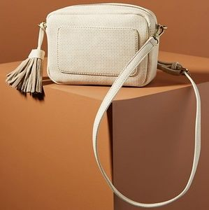 NWT | Anthropologie Zinnia Crossbody Bag